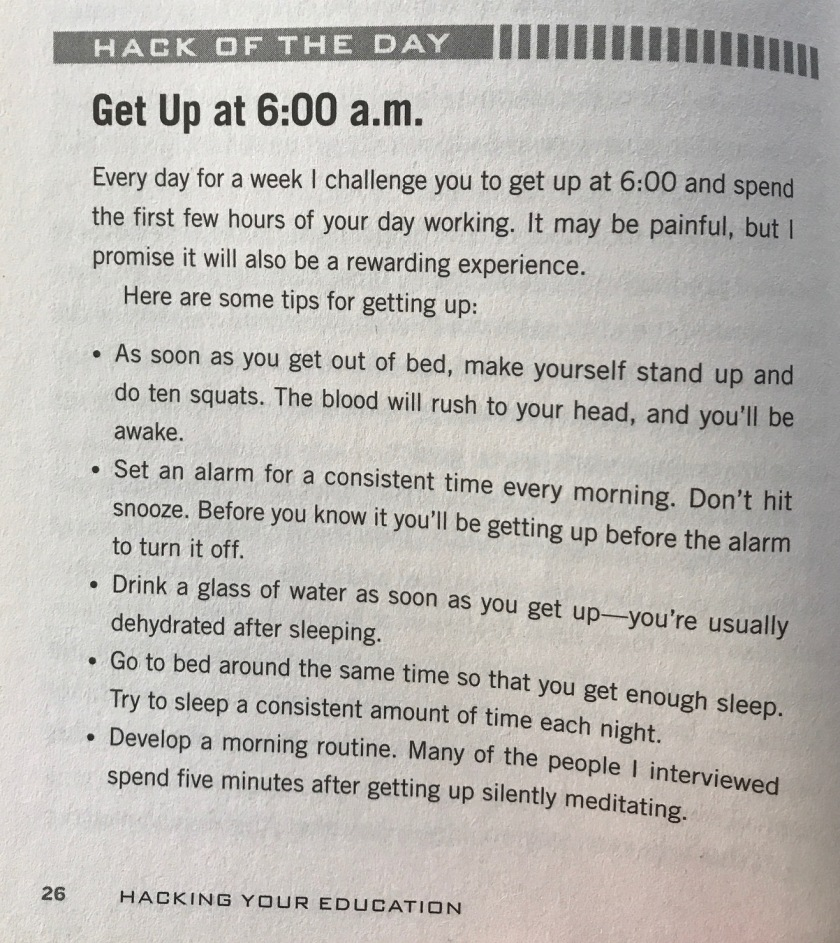 hack wake up call